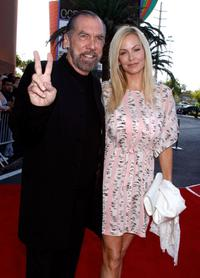 John Paul DeJoria and Eloise Broady at the opening night premiere of