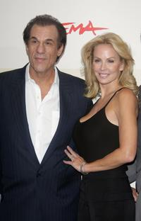 Robert Davi and Eloise Broady at the photocall of