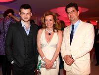 Alden Ehrenreich, Caroline Gruosi-Scheufele and Roman Coppola at the 62nd International Cannes Film Festival.