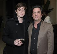 Sam Riley and Roman Coppola at the special screening of
