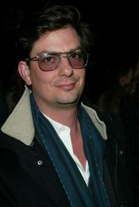 Roman Coppola at the Marc Jacobs Fall/Winter 2003 Collection fashion show during the Mercedes-Benz Fashion Week.