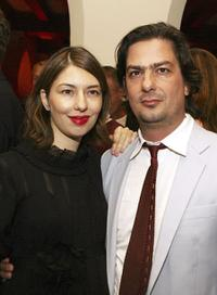 Sofia Coppola and Roman Coppola at the after party of
