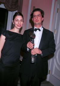 Sofia Coppola and Roman Coppola at the Fifth Annual Golden Satellite Awards.