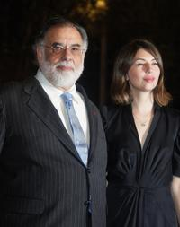 Sofia Coppola and Francis Ford Coppola at the
