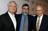 Roger Corman, John Landis and Carl Reiner at the special screening of