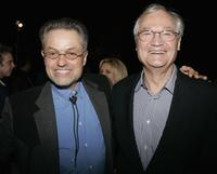 Roger Corman and Jonathan Demme at the screening of