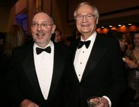 Roger Corman and Jon Davison at the 2006 Producers Guild awards.