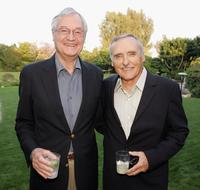 Roger Corman and Dennis Hopper at a special screening of