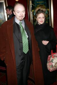 Bud Cort and Carol Kane at the premiere of