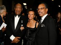 Bill Cosby, Tawana Tibbs and Bruce Gordon at the 38th annual NAACP Image Awards.