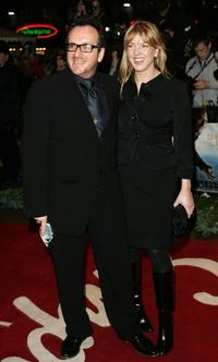 Elvis Costello and Diana Krall at the European premiere of '