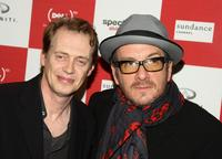 Steve Buscemi and Elvis Costello at the Sundance Channel's debut of