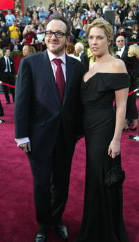 Elvis Costello and Diana Krall at the 76th Academy Awards ceremony.