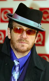 Elvis Costello at the Q Awards 2004.