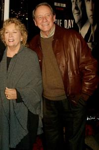 Penni and Richard Crenna at the premiere of