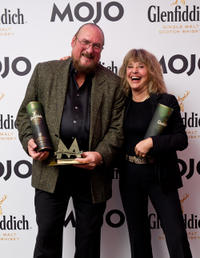 Steve Cropper and Suzi Quatro at the Glenfiddich Mojo Honours List 2011.