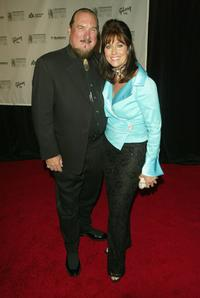 Steve Cropper and his wife Angel Cropper at the 2005 Songwriters Hall Of Fame induction ceremony.