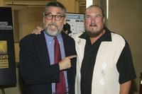 Director John Landis and Steve Cropper at the Hollywood's Master Storytellers 25th Anniversary DVD Release of
