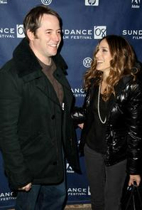 Matthew Broderick and Sarah Jessica Parker at the 2008 Sundance Film Festival for the premiere of