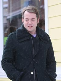 Matthew Broderick at the 2008 Sundance Film Festival.