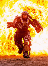 Tom Cruise as Major William Cage in
