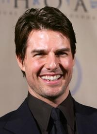 Tom Cruise at the 5th Annual Ambassadors for Humanity Dinner Honoring former President Bill Clinton.