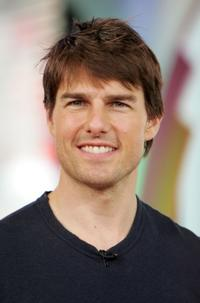 Tom Cruise at the MTV's Total Request Live.