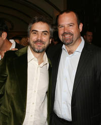 Alfonso Cuaron and Marc Shmuger at the California premiere of