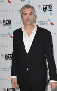 Director Alfonso Cuaron at the premiere of