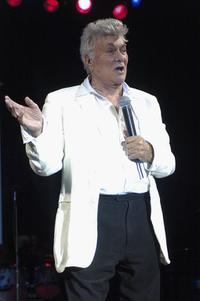 Tony Curtis at the Viva Las Vegas Party during Cinevegas 2005.