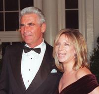 James Brolin and Barbra Streisand at the state dinner in honor of British Prime Minister.