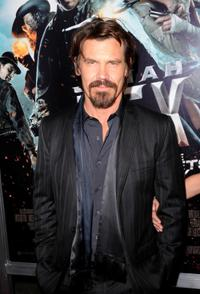 Josh Brolin at the premiere of