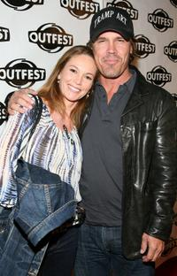 Diane Lane and Josh Brolin at the 2009 Outfest opening night gala of
