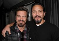 Josh Brolin and Benjamin Bratt at the 2009 Sundance Music Festival.