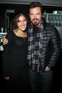 Q'orianka Kilcher and Josh Brolin at the 2009 Sundance Music Festival.