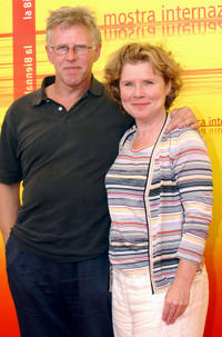 Phil Davies and Imelda Staunton at the photocall of