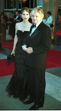 Charles Bronson and wife Kim at the Los Angeles Opera Samson and Dalila.