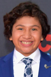 Anthony Gonzalez at the premiere of