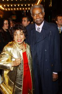 Ossie Davis and Ruby Dee at the opening of