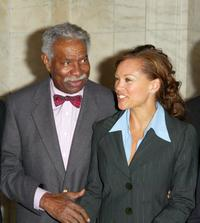 Ossie Davis and Vanessa L. Williams at the Premiere of