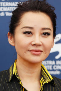 Qing Xu at a photocall for