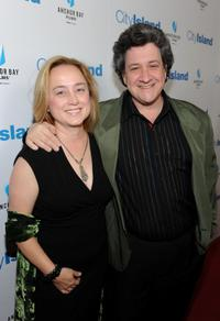 Sherry Brennan and Raymond de Felitta at the of premiere of