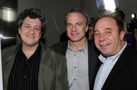 Raymond de Felitta, Gordon Prend and Bill Clark at the of premiere of
