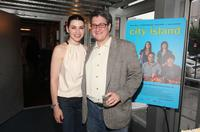 Julianna Margulies and Raymond de Felitta at the of screening of
