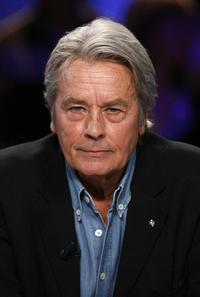 Alain Delon at theTV show le