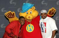 Kyle Massey and Claude Brooks at the Hollywood Radio and Television Society Kids Day.