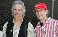 John Densmore and Robby Krieger at the radio personality Jim Ladd's star ceremony on the Hollywood Walk of Fame.
