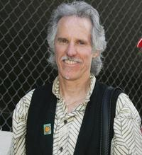 John Densmore at the radio personality Jim Ladd's star ceremony on the Hollywood Walk of Fame.