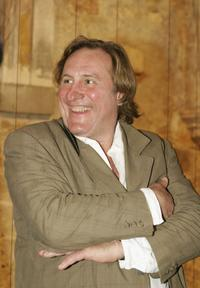 Gerard Depardieu at his 3 hectare vineyard Coteaux du Languedoc in Aniane.