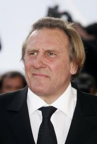 Gerard Depardieu at the Palais des Festivals premiere of